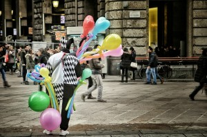 klaun-itálie