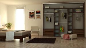 Vstavané skrine do spálne – správna voľba!