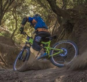 Rozcvička na horskom bicykli
