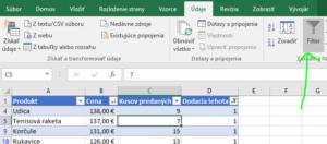 Práca s tabuľkami Excel vo video kurze