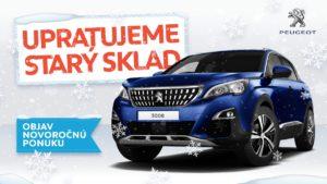 Nový rok v novom aute. Nájdite si svoj Peugeot!