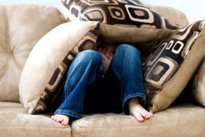 Dieťa vníma vašu nervozitu