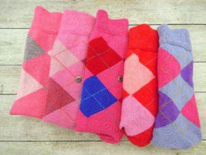 farebné ponožky