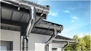Strechy Blachotrapez majú kvalitný oceľový alebo PVC odkvapový systém vlastnej výroby